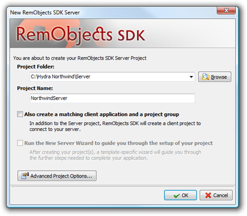 New RemObjects SDK Server