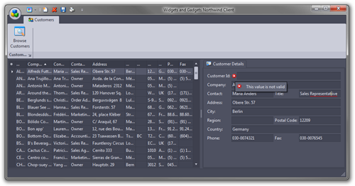 Widgets and Gadgets Northwind Client (4)