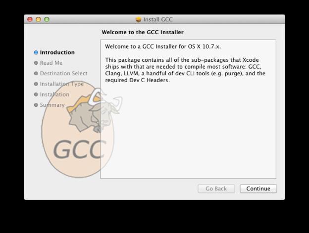 Standalone GCC Installer